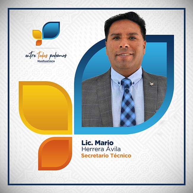 Lic. Mario Herrera Avila - Secretario Técnico
