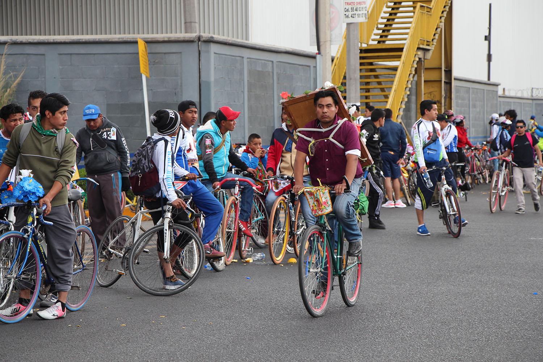 Autoridades municipales darán asistencia vial y de primeros auxilios a peregrinación ciclista a Basílica de Guadalupe