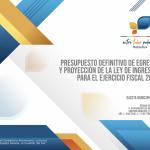 Gaceta No.4 - Presupuesto Definitivo de Egresos y Proyección de la Ley de Ingresos, Para el Ejercicio Fiscal 2019