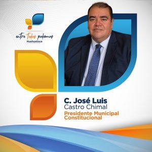 Presidente Municipal José Luis Castro Chimal