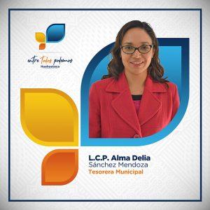 L.C.P Alma Delia Sánchez Mendoza - Tesorera Municipal