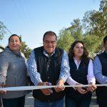 Entrega Castro Chimal importantes mejoras viales en el Bo. San Bartolo