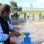 Entrega Castro Chimal nuevo pozo de agua potable a vecinos de Jorobas