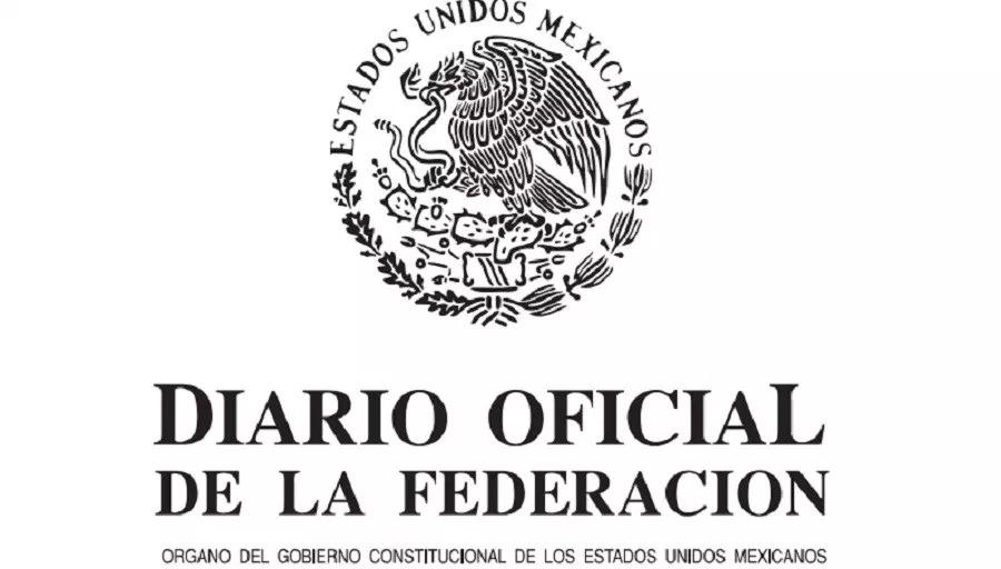Dirario Oficial de la Federación